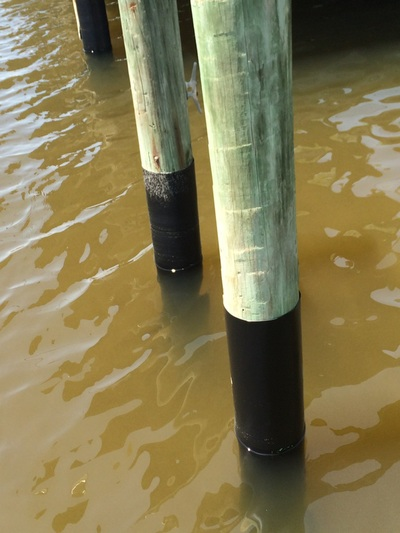 Piling Repair Piling Wraps Louisiana Mississippi